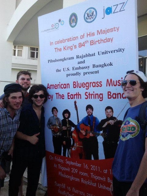 The Earth Stringband goes to Thailand